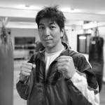 キックボクシングジムのトレーナー撮影
