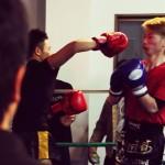 アマチュア キックボクシングの試合撮影