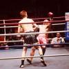 後楽園ホール、キックボクシングの試合撮影