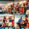 キックボクシングのマススパー vs T.Sさん